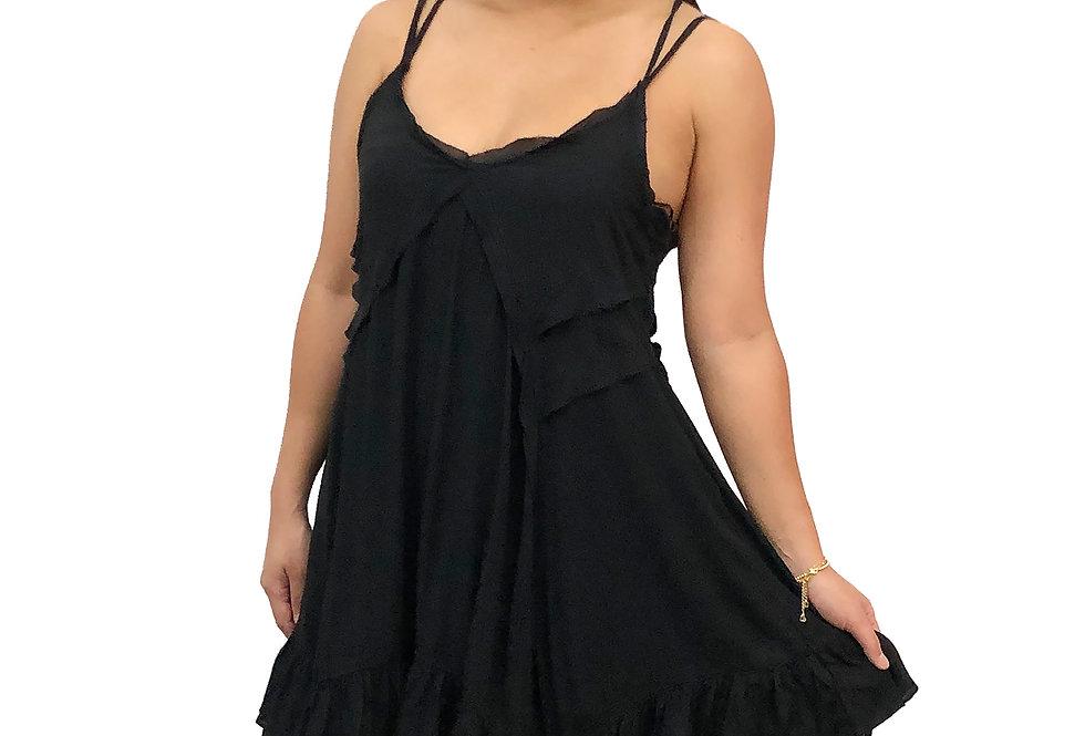 Ruffle Edge Dress