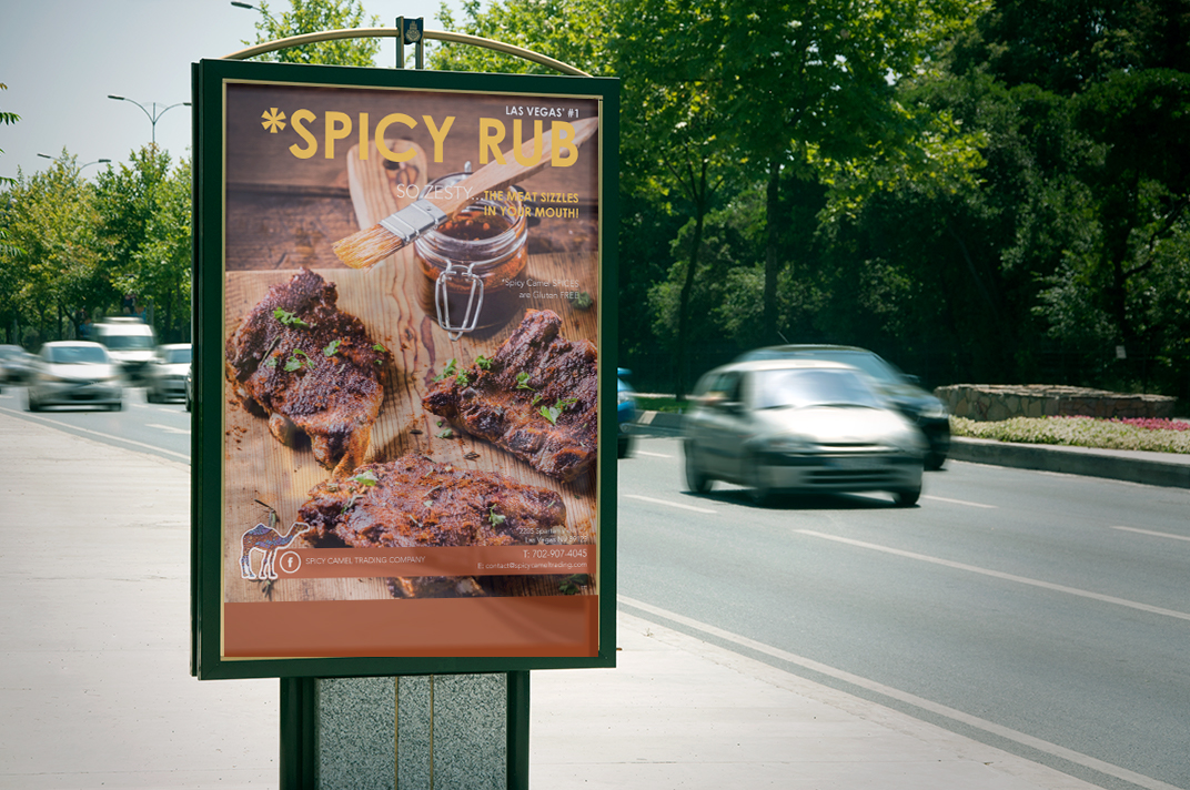 SPICY-CAMEL-highway poster