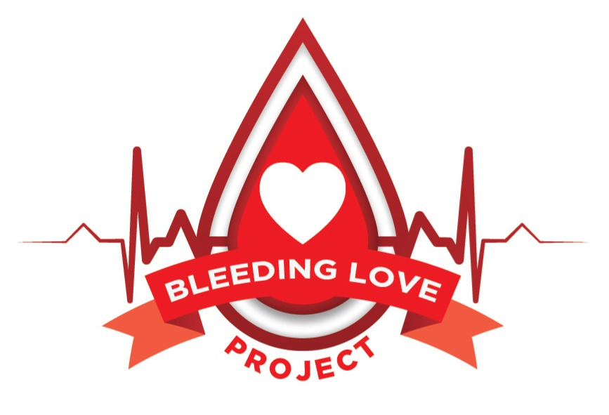 BLEEDING LOVE LOGO
