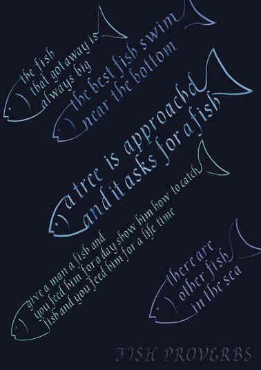 FISH PROVERBS