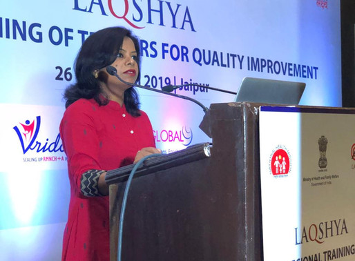 CHASING OUR DREAM OF QUALITY IN HEALTH CARE!     Dr.Prabha Ranjan,NMG Mentor for NEIGRIHMS, Shillong