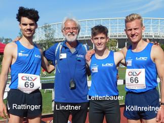 LAC Amateure Steyr  Vizestaatsmeister 3 x 1000 m Staffel !