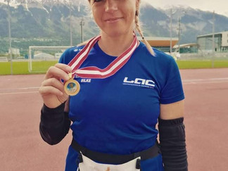 Silke Danninger LAC Amateure Steyr beim 12 Std. Lauf in Innsbruck