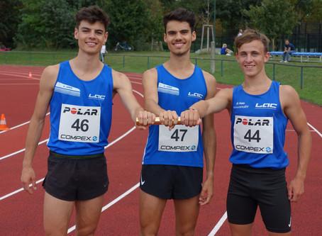 Bronze für junges LAC Amateure Steyr Trio bei den österreichischen Langstaffelmeisterschaften in Wie