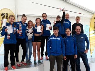 U16 Staatsmeisterschaft Rif bei Hallein am 06 und 07.09.2019:  1x OÖ Landesrekord, 3x Gold, 1x Silbe