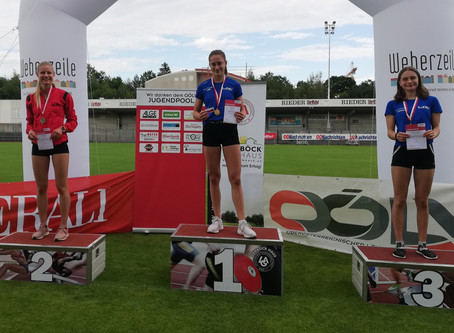 3 x GOLD, 4x Silber und 3x Bronce fuer LAC AMATEURE STEYR