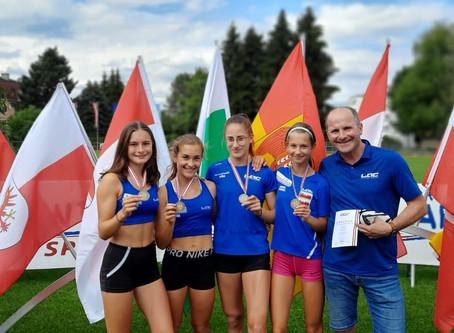 LAC AMATEURE STEYR bei österreichischen U18 Meisterschaften in Klagenfurt!