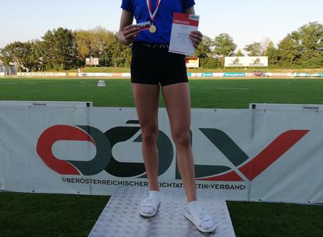 10 x Gold, 5 x Silber und 2 x Bronze für den LAC Amateure Steyr bei den OÖ LM U18 und U 23 in am 8.8