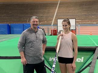 Lisa Gruber vom LAC Amateure Steyr auf Platz vier der U18-Hallen-Weltrangliste