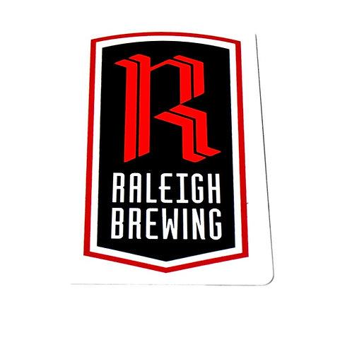 Raleigh Brewing Company Contour Tin Tacker