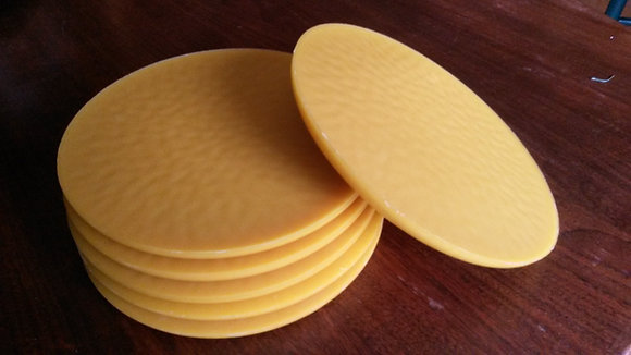 Beewax plates - by the pound