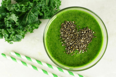 bigstock-Green-kale-smoothie-with-chia--