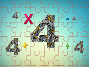 The Four Fours Puzzle: To Infinity and Beyond!
