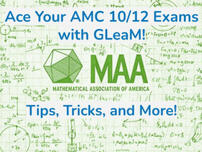 AMC 10/12 Tips and Tricks: Boost Your AMC Score with GLeaM! Part 2