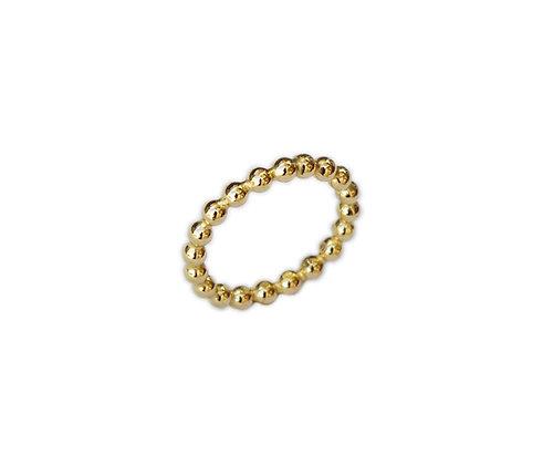 Lautin sølvring gull