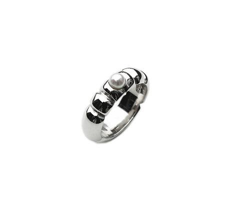 Bono Perle sølvring