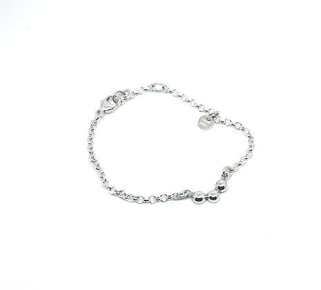 ODEL armbånd i sølv