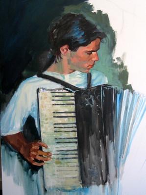 Luke the Accordionist - Luc l'accodioniste