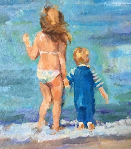 Beach Snap Big Sister