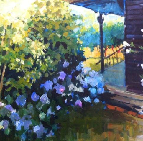Garden sketches Plein Air 1
