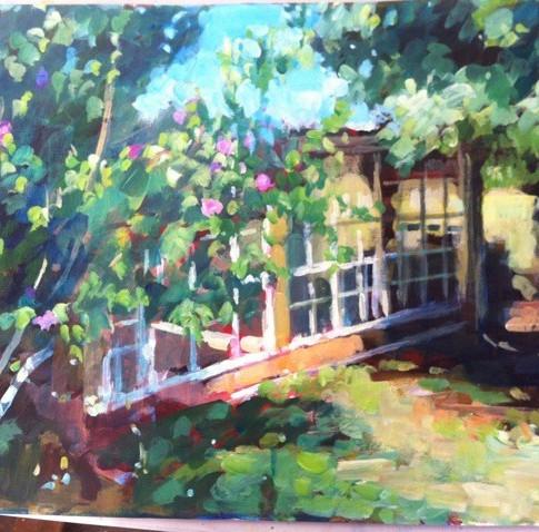Garden Sketches Plein Air