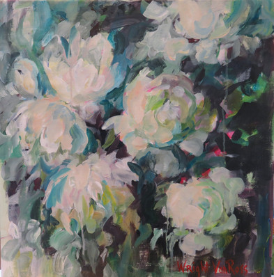 7_White Peonies - Pivoines Blanches