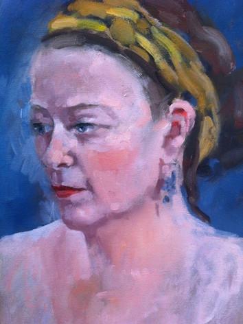 Margaret - Oil Sketch
