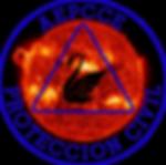 Logotipo de AEPCCE, tormenta solar, SACCE I, Simulación online de emergencia internacional