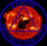 Logotipo AEPCCE, tormenta solar, Decálogo de autoprotección familiar, clima espacial