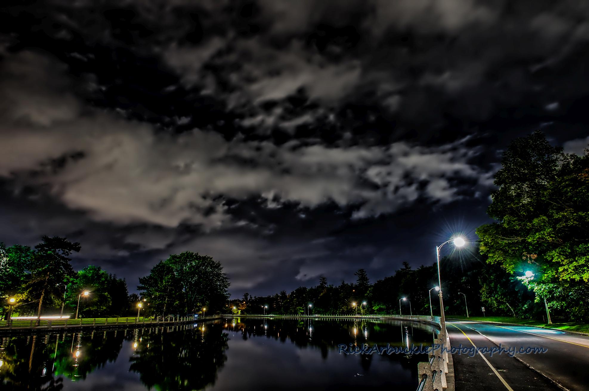 Rideau Canal night 02