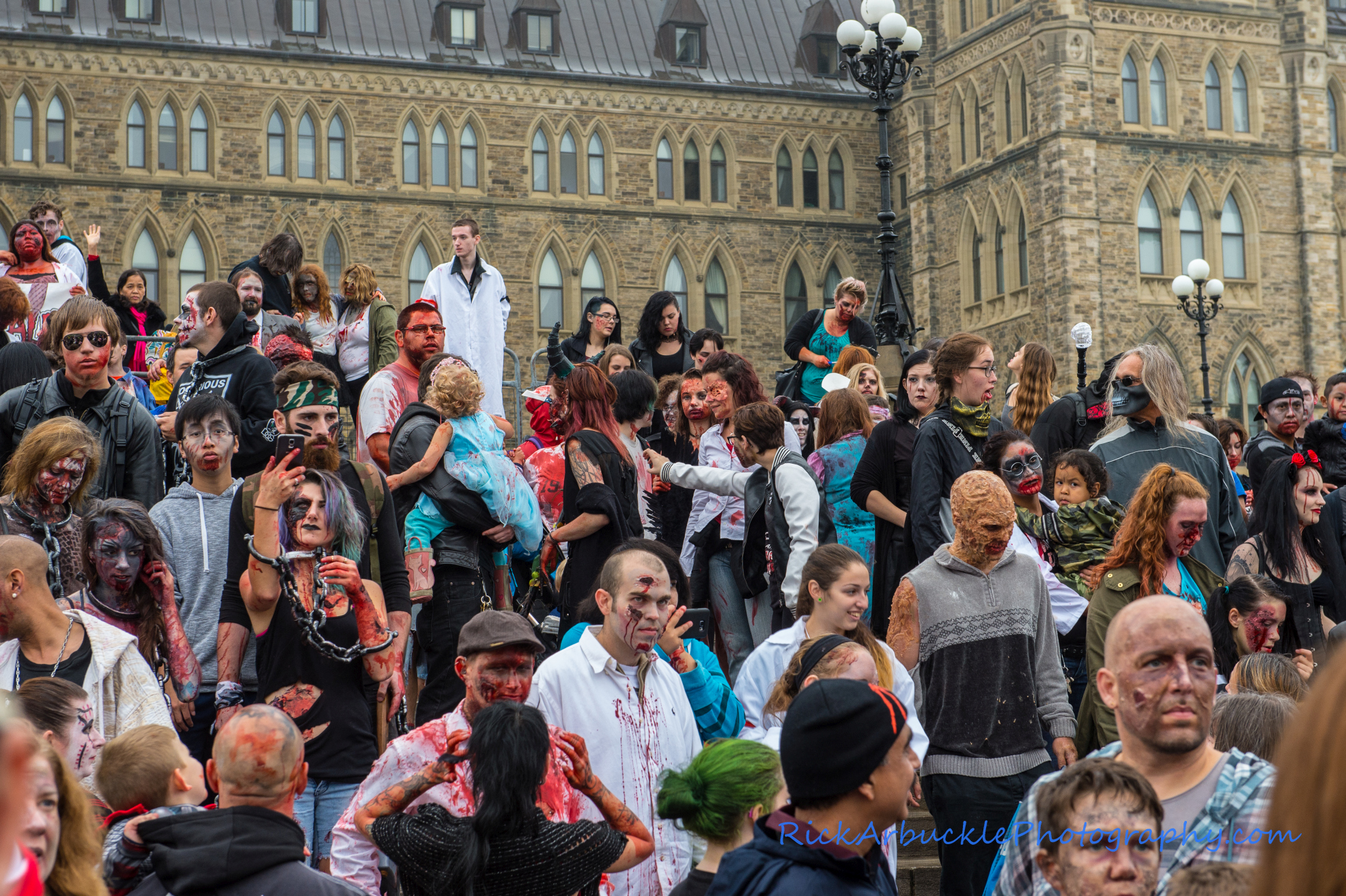 Ottawa Zombie Walk - 2016  79