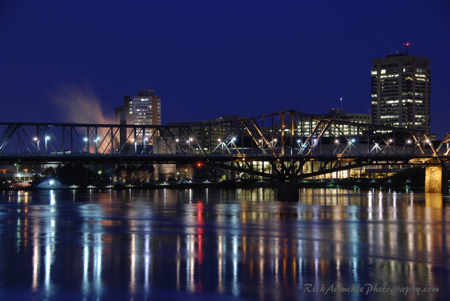 Bridge Reflecting On A Calm River copy.jpg
