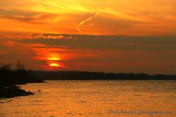 Autumn Sunset Ottawa River