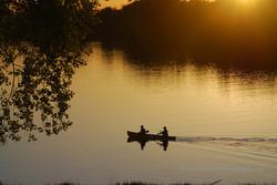 Sunset Canoe Ride