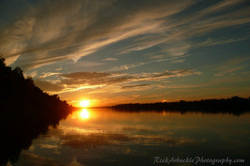 Picturesque Sunset Ottawa River