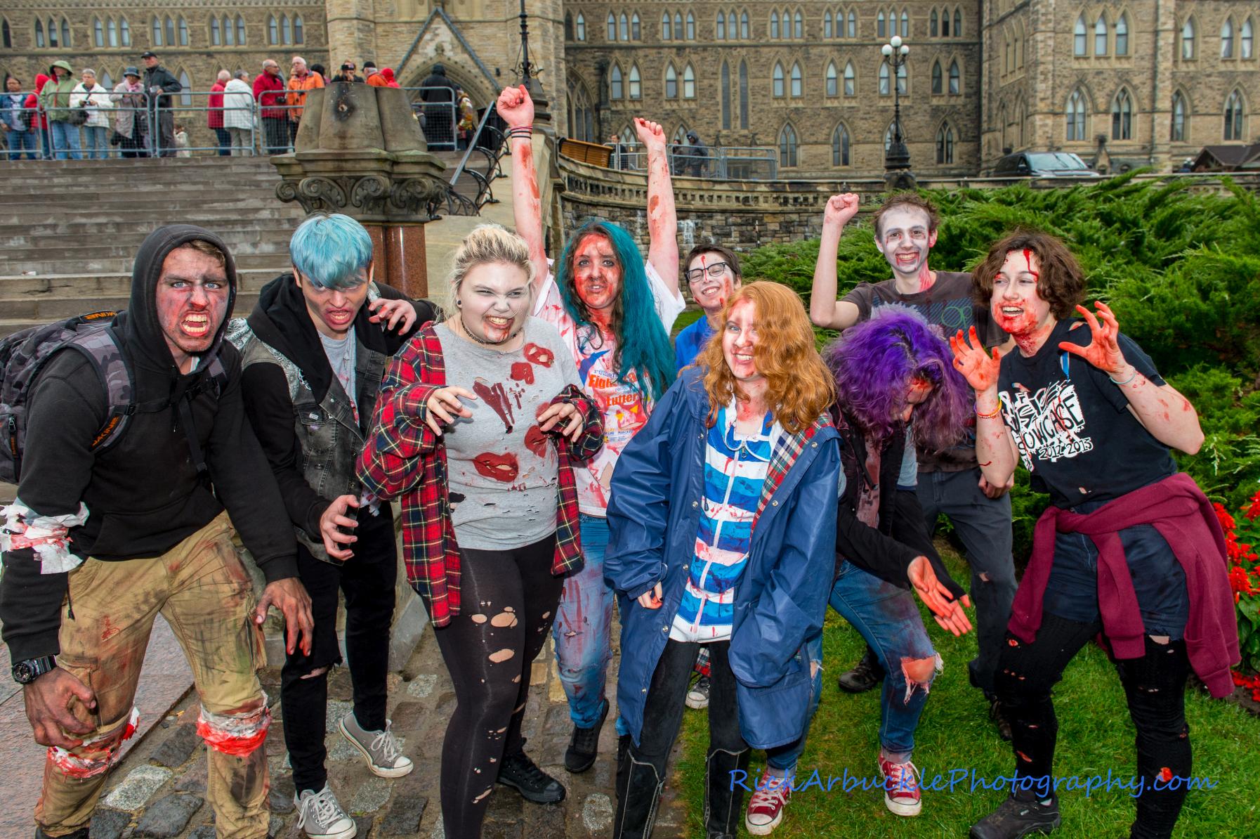 Ottawa Zombie Walk - 2016  88