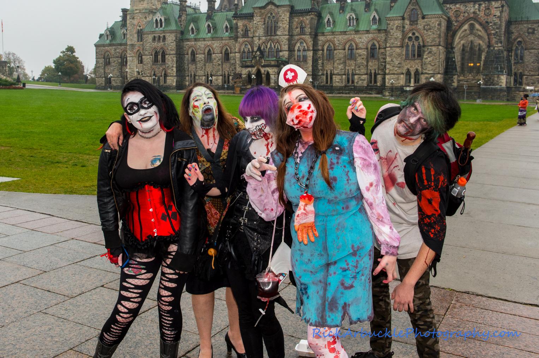 Ottawa Zombie Walk - 2016  101