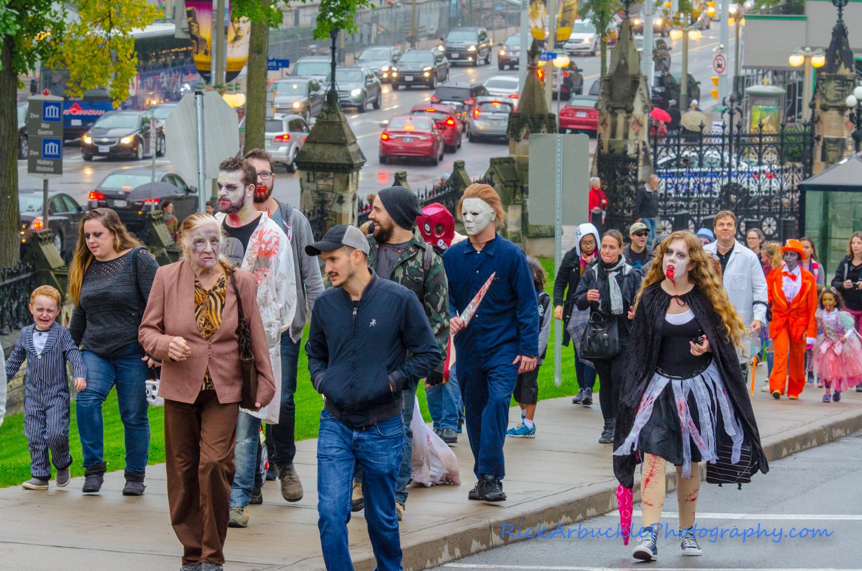 Ottawa Zombie Walk - 2016  62