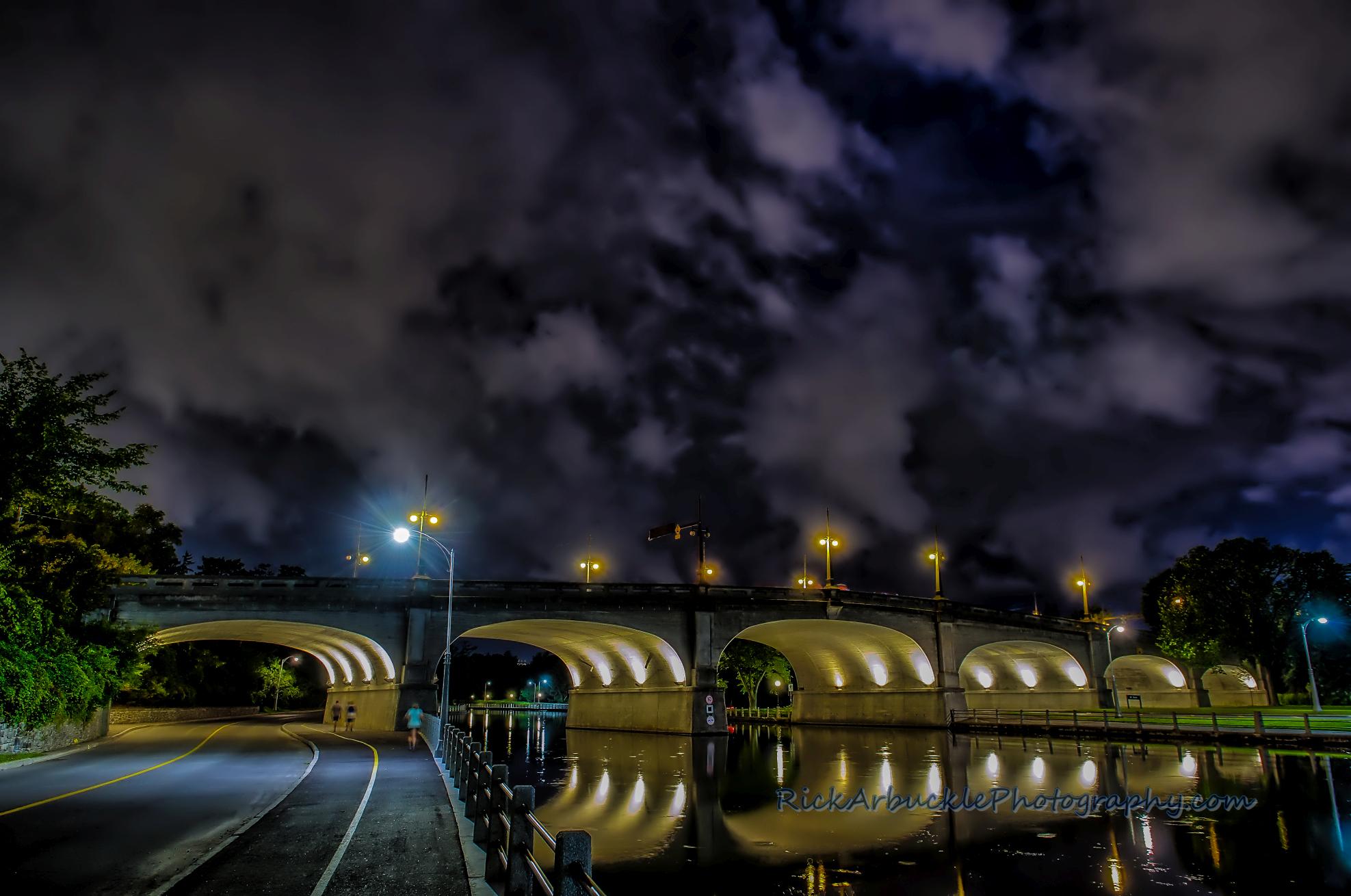 Rideau Canal night 01