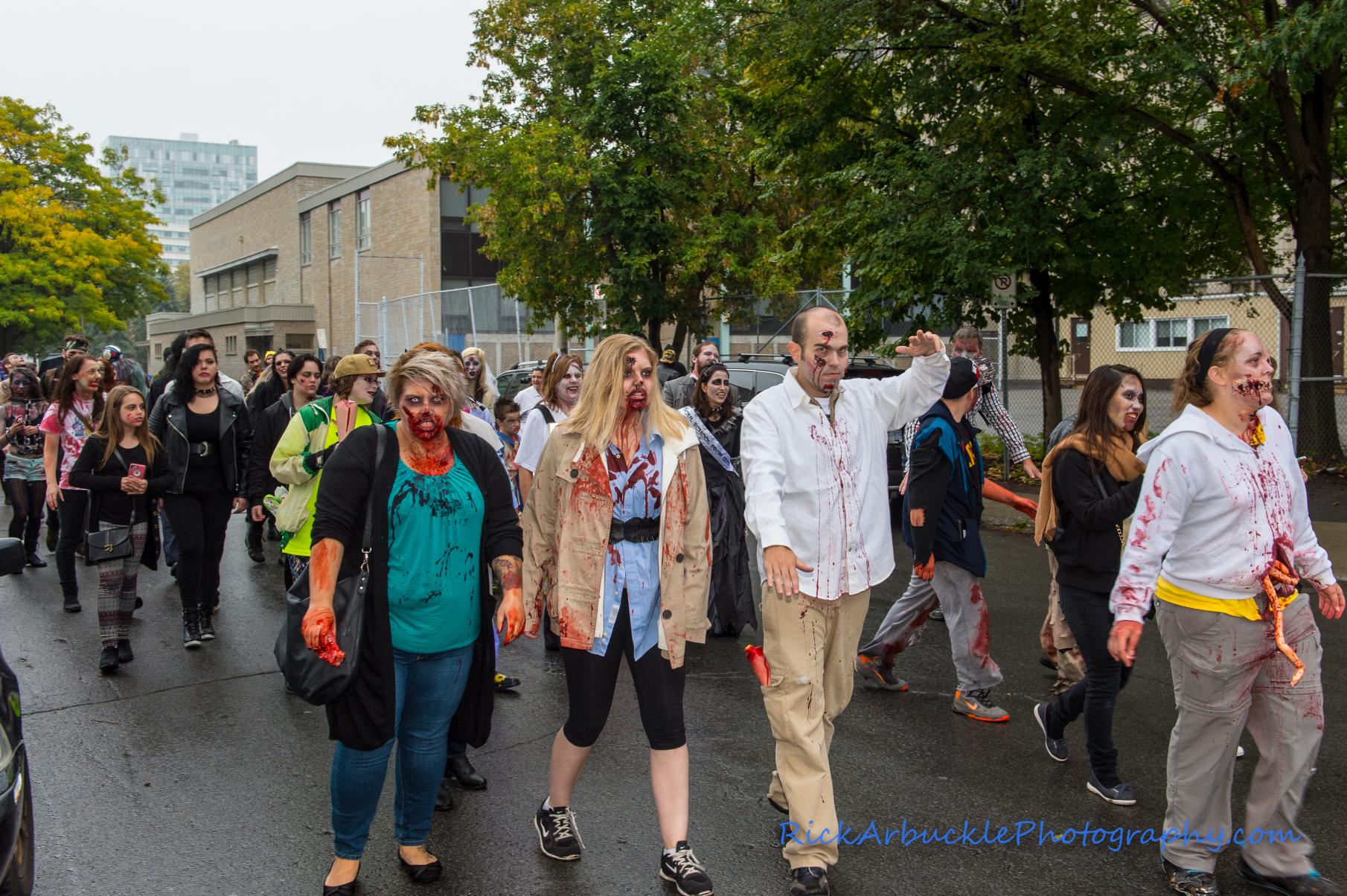 Ottawa Zombie Walk - 2016  16