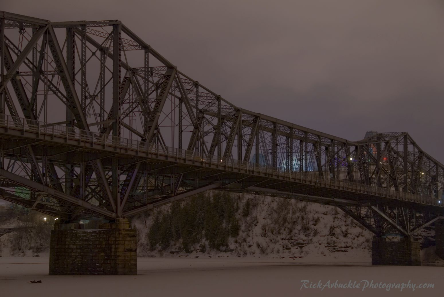 Bridge Over Frozen River at Night copy.jpg