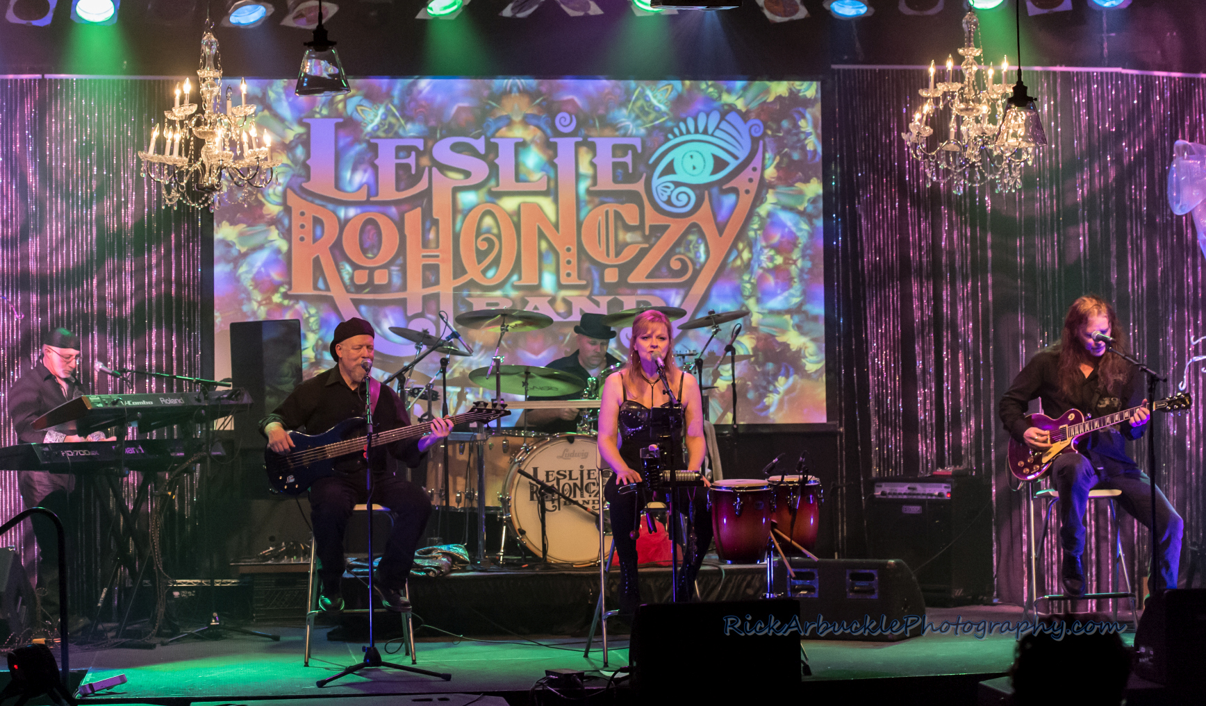 Leslie Rohonczy Band - Greenfield's 2016 12 09  17