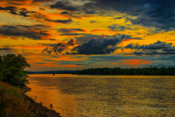 Twilight Clouds Over The River.jpg