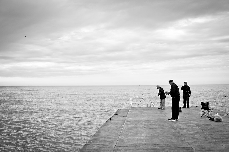 Fishing in the Black Sea