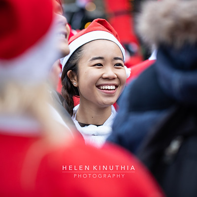 Stockholm Santa Run 2018