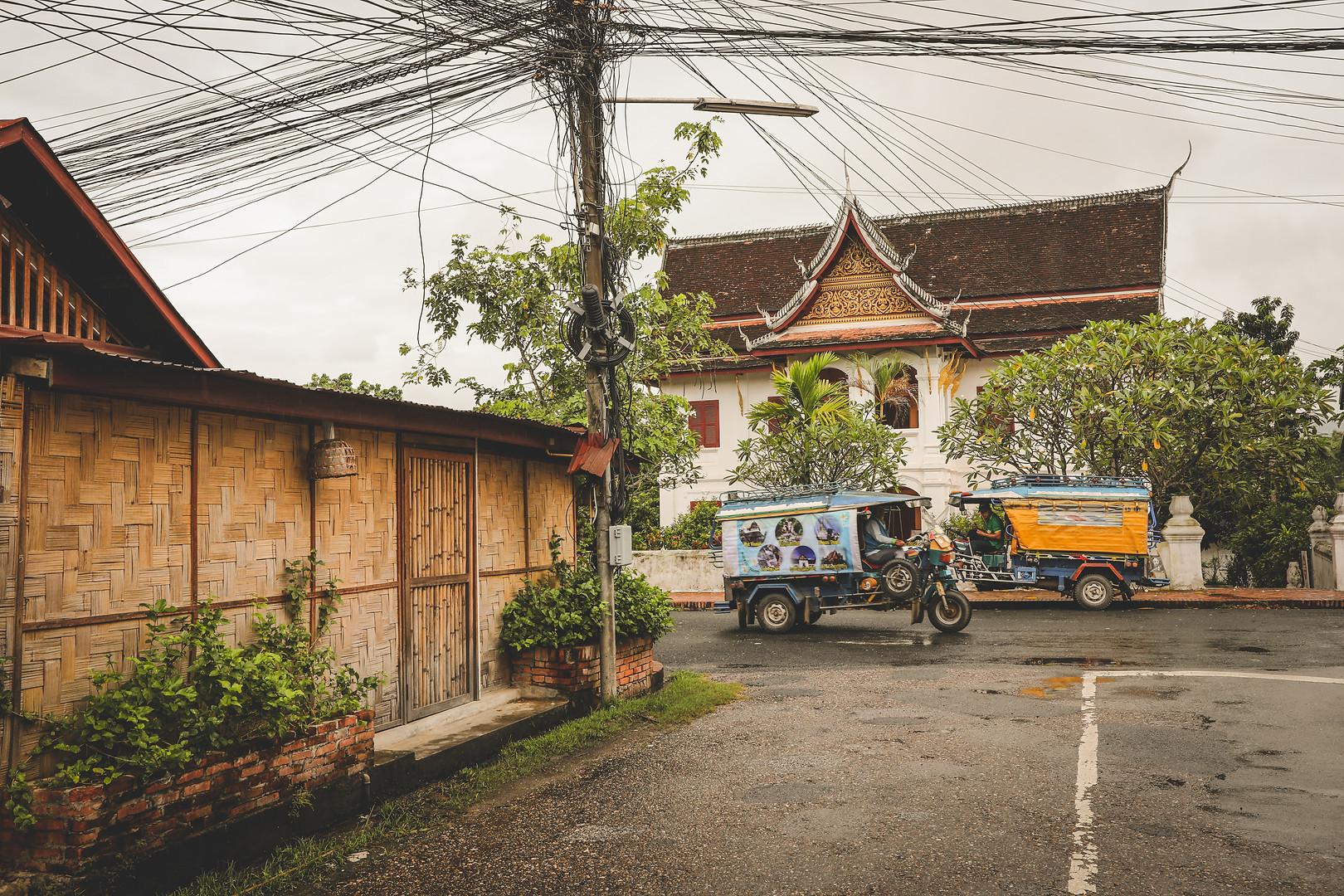 Streets of Luang Prabang