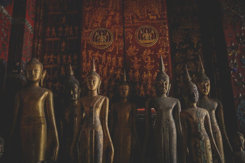 Temple, Luang Prabang, Laos