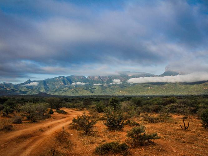 The stunning landscapes of Northern Kenya