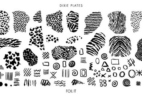 Dixie Plates Foil It Mini Plate