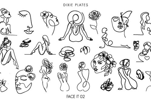 Dixie Plate Face It Mini Plate